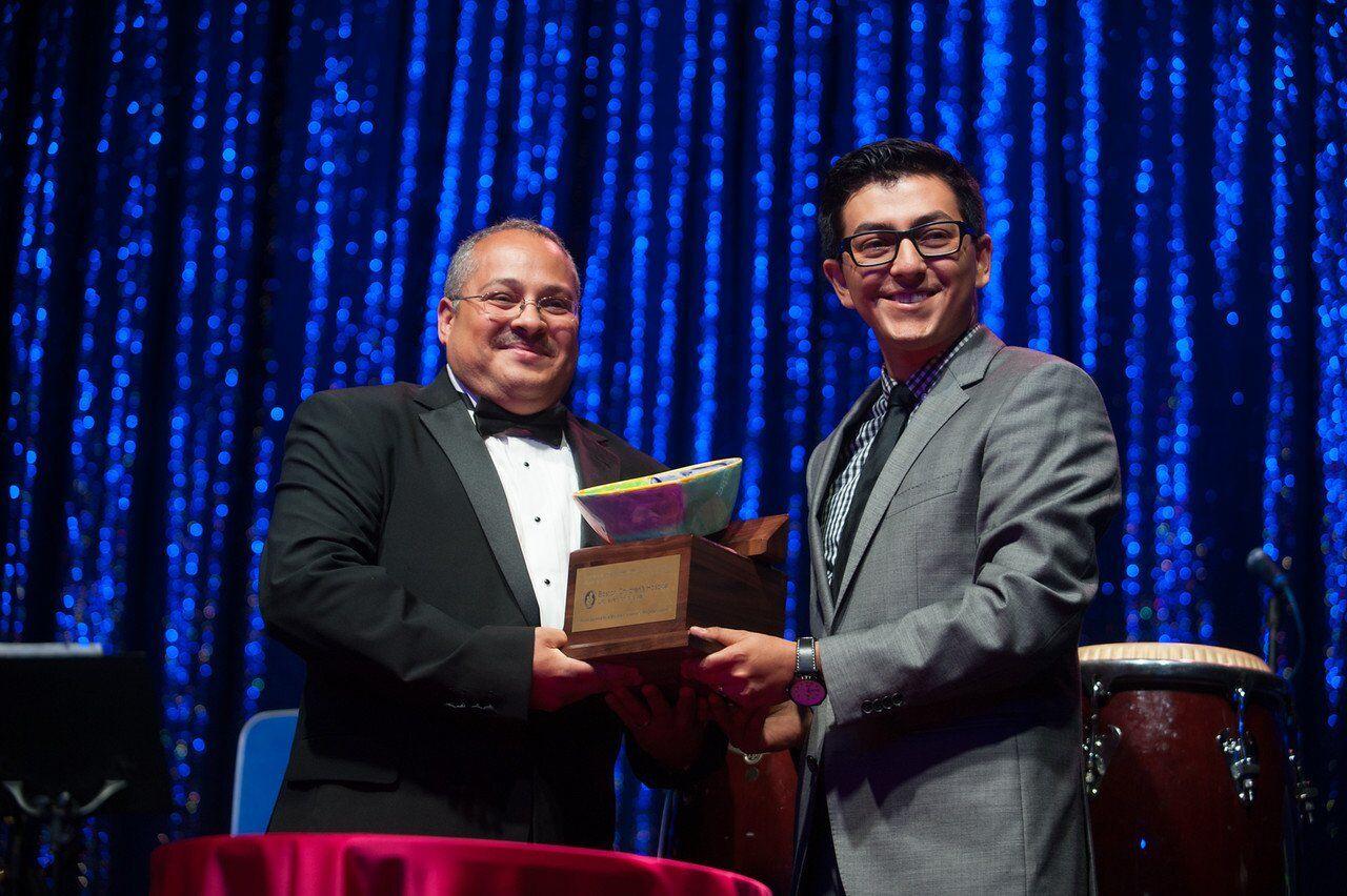 Dr. Melendez and Carlos Estrada-Alamo